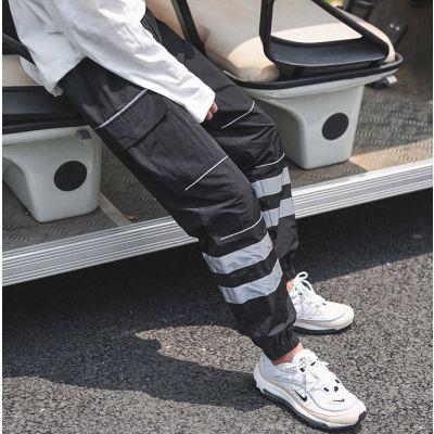 Pantalon workwear pour homme avec bandes réfléchissantes 3M