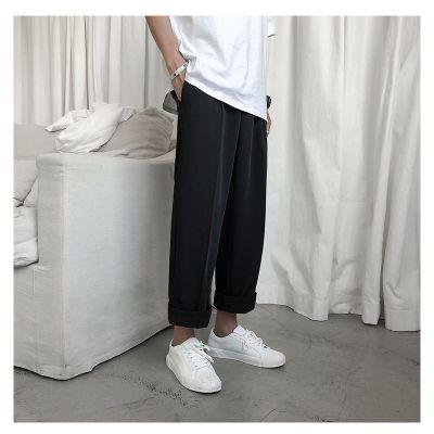 Pantalon de costume façon décontractée