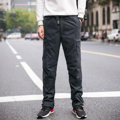 Pantalon homme cargo coupe régulière