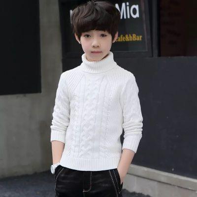 Pullover en laine pour garçon avec torsades tricot knitwear