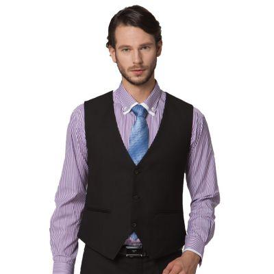 Gilet de costume classique pour homme fermeture 3 boutons