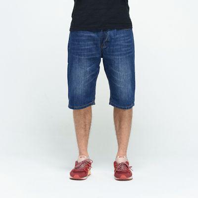 Short en Jeans Classique pour Homme Longueur Genoux