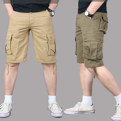 Short cargo baggy multi-poches pour homme