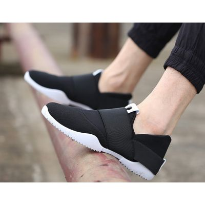 Sneakers sans lacets pour homme baskets running slip on