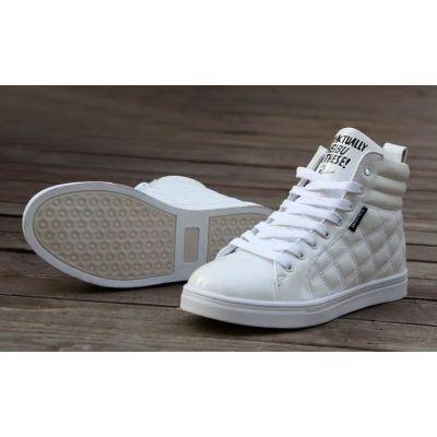Baskets Montantes Chaussures Sports style Supra avec Motif Losanges