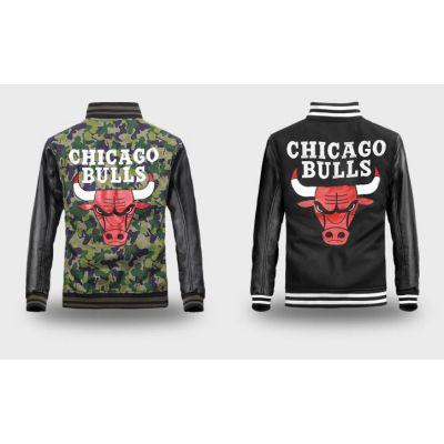Blouson Bomber Chicago Bulls Bimatière Streetwear Retro
