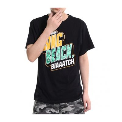 T Shirt Long Beach Biaaatch California Hip Hop