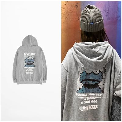 Sweatshirt à capuche $200K Cookie Monster pour homme ou femme