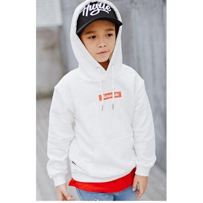 Sweatshirt à capuche enfant Box Logo Jumpmiki pour garçon