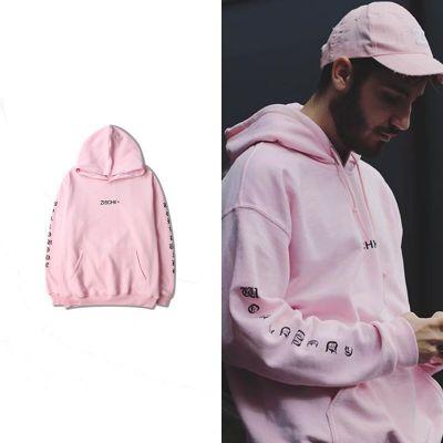 Sweatshirt à capuche Worldwide imprimé manches