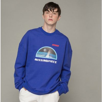 Sweatshirt crewneck Spatial NASA Missing Piece