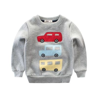 Sweatshirt garçon voitures camions crewneck