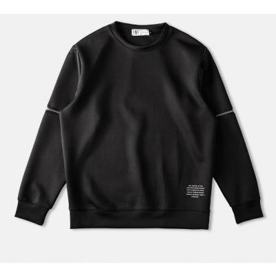 Sweatshirt homme avec fermetures éclaire sur les manches