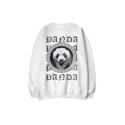 Sweatshirt Panda Designer Script Gothique Animal