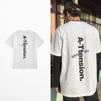 T-shirt A-Tension flocage streetwear pour homme ou femme