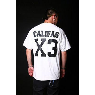 T shirt Califas X3 Football Américain West Coast Imprimé