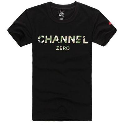 T Shirt Channel Zero Streetwear Hip Hop Swag Manches Courtes