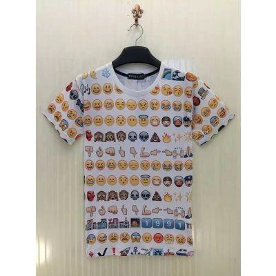 T shirt Emojis Emoticones Smileys Homme Femme Swag