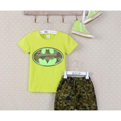 T shirt Enfant Batman Motif Camouflage pour Garçon ou Fille
