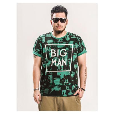 T-shirt Imprimé Architecture Big Man Panmax Homme Grande Taille