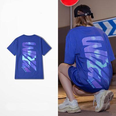 T-shirt Imprimé Graphique au Dos Aqua Tie Dye Homme Femme