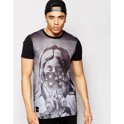 T-shirt Fremont & Harris Roche Bandana