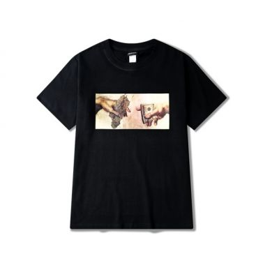 T-shirt Michelangelo Pass the Weed pour Homme