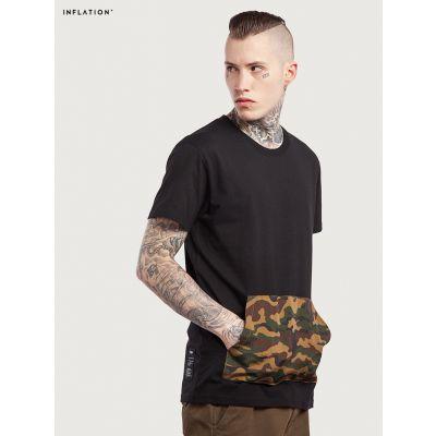 T-shirt poche ventrale camouflage militaire Inflation pour homme