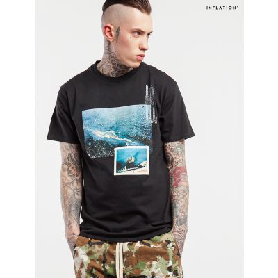 T-shirt Rain Drop Inflation pour Homme