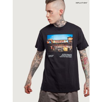 T-shirt Street Graffiti Inflation pour homme