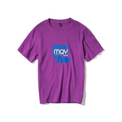 T-shirt streetwear homme avec imprimé effet vieilli Mqy