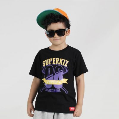T shirt Enfant Old School Hip Hop Superkiz 08