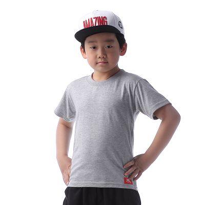 T shirt vièrge pour enfant garçon fille manches courtes couleur
