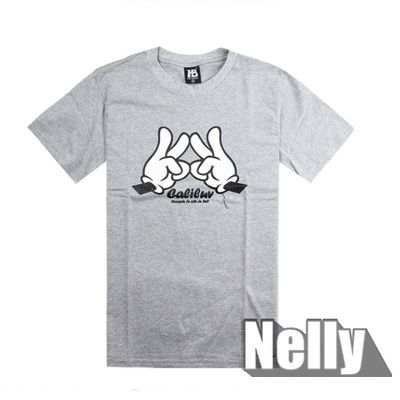 Destockage - T shirt Caliluv Gris Taille