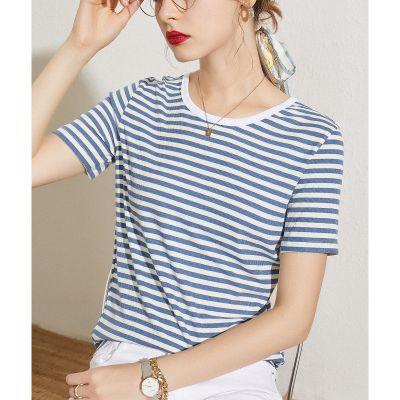 Tee-shirt femme grand classique à rayures