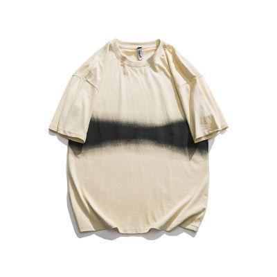 Tee-shirt homme oversize impression à la ceinture