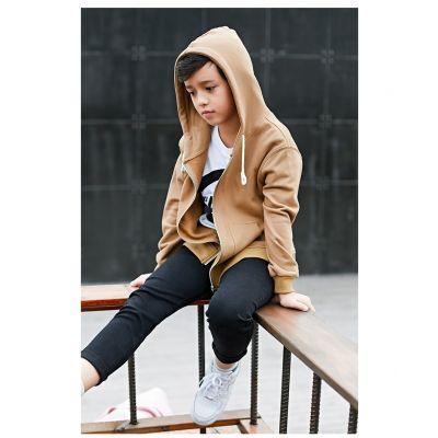 Veste à capuche garçon hoodie à fermeture zippée enfant