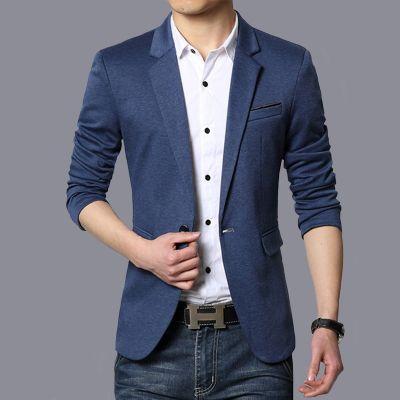 Veste de costume slim pour homme