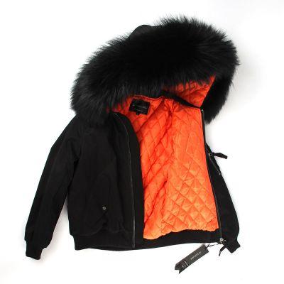 Veste matelassée hiver pour femme avec capuche à fourrure