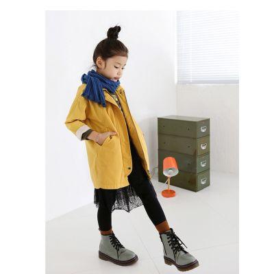 Veste Trench coat imperméable pour fille enfant - Coton
