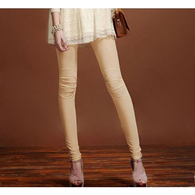 Leggings stretch collants pour femme en coton