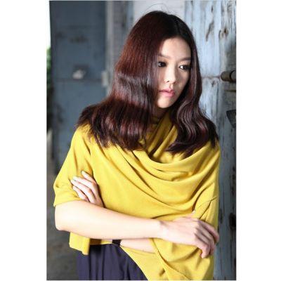Echarpe large simple pour femme couleur unie multiple coloris