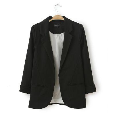 Blazer ouvert pour femme avec poches côtés multiples coloris