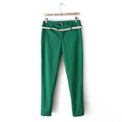 Pantalon stretch détente pour femme blend coton avec petite ceinture