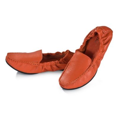 Chaussures slip on souples pour femme style ballerine