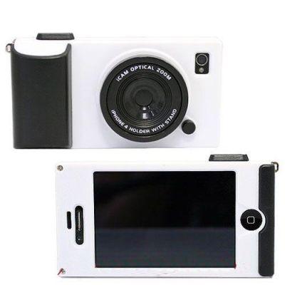 Coque iPhone 4 4S faux appareil photo rétrohousse iCamera