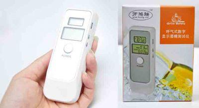 Ethylotest numérique portable haute précision avec écran LCD