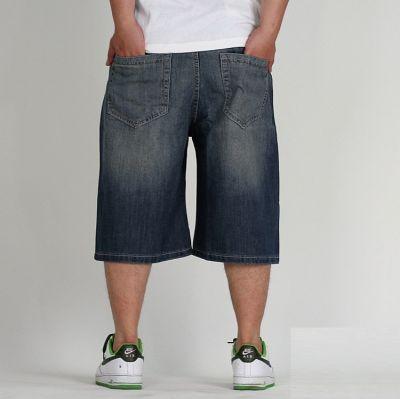 Bermuda Baggy en Jeans pour Homme Shorts Denim