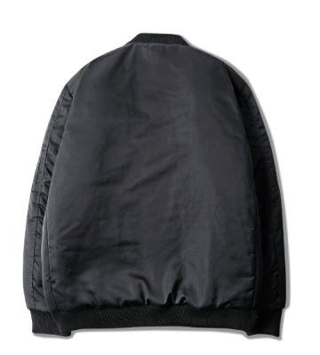 Blouson Bomber Jacket MA1 Court pour Homme avec Zip Manches