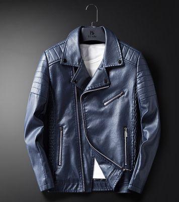 Blouson simili cuir perfecto biker homme avec épaules matelassées